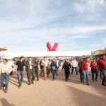 REALIZAN DIRECTORES MUNICIPALES RECORRIDO POR INSTALACIONES DE LA FERIA JUAREZ