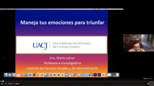 TODOS SOMOS SERES EMOCIONALES…DOCTORA MARIE LEINER