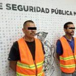 DETIENEN A 2 EN POSESION DE UN ARMA DE FUEGO CALIBRE 22 Y UN ENVOLTORIO DE CRISTAL