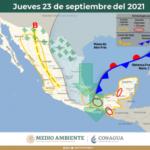 PRONOSTICAN CHUBASCOS DURANTE LA TARDE Y MÁXIMA DE 29°C