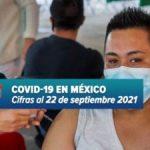MÉXICO REBASA LAS 273 MIL MUERTES POR COVID; REPORTAN 11 MIL 603 CONTAGIOS MÁS
