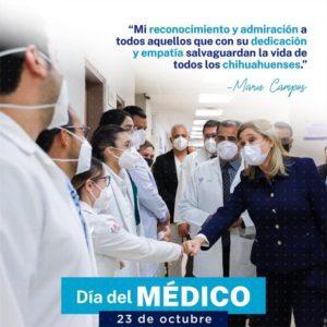 FELICITA MARU CAMPOS A LOS MEDICOS EN SU DIA…